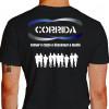 Camiseta - Corrida - Treino Diversos Atletas Correndo Cansar o Corpo e Descansar a Mente Costas Preta