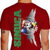 camiseta plea sinuca - vermelha