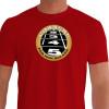 Camiseta - Corrida - Largada Atletismo Frase Correre Per Non Rolare Frente Vermelha