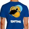 camiseta qwe rafting - azul