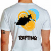 camiseta qwe rafting - branca