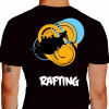 camiseta qwe rafting - preta