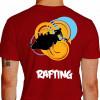 camiseta qwe rafting - vermelha