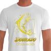 Camiseta - Pesca Esportiva - Dourado Saltando Rei do Rio - branca