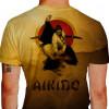 Camiseta - Aikido - Samurai Katana Golpe Tanto Dori Costas