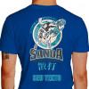 Camiseta Situacao Combate Real Sanda - azul