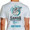Camiseta Situacao Combate Real Sanda - branca