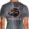 Camiseta - Fórmula 1 - Cabos e Velas Carro F1 Costas Cinza