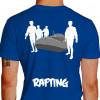 camiseta trs rafting - azul