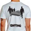 camiseta trs rafting - branca