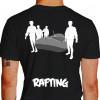 camiseta trs rafting - preta