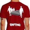 camiseta trs rafting - vermelha
