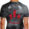 Camiseta - Boxe - Luvas de Boxe Saco Pancada Vencer a Si Próprio é a Maior das Vitórias Costas Principal