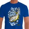 Camiseta - Pesca Esportiva - Pescaria Peixe Xareu - azul