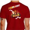 Camiseta - Kart - Adrenalina e Velocidade Máxima Go Kart Costas Vermelha