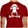 Camiseta - Kart - Kartismo Chassis Costas Vermelha