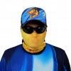 Máscara de Proteção Solar Escamas Tucunaré UV 50 PROTECTION Pescaria