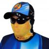 Máscara de Proteção Solar Escamas Tucunaré UV 50 PROTECTION Pescador
