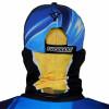 Máscara de Proteção Solar Escamas Tucunaré UV 50 PROTECTION Costas
