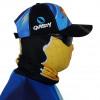 Máscara de Proteção Solar Escamas Tucunaré UV 50 PROTECTION Lado