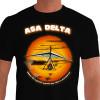 Camiseta - Asa Delta - Voo Pôr do Sol Pobre de Espírito Aquele que não se Aventurar