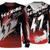 Camisa Forza Series Motocross Principal Vermelha teste