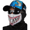 Máscara de Proteção Solar Buff Escamas Tucunaré UV 50 PROTECTION Diagonal Tubarão