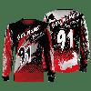 Camisa Forza Series Motocross Vermelha 1