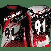 Camisa Forza Series Motocross Principal Vermelha