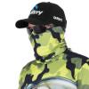 Máscara de Proteção Solar Xaréu Surfista Camuflado Pesca Esportiva UV PROTECTION - Pesca Esportiva